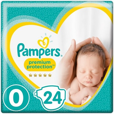 PAMPERS NEW BABY 0 HOSPITAL MICRO 1-2.5 KG (24 st)