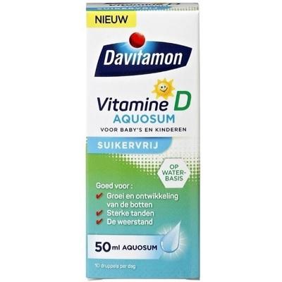 Davitamon Vitamine D Aquosum Suikervrij (50 ml) | Mijnkraamshop.nl