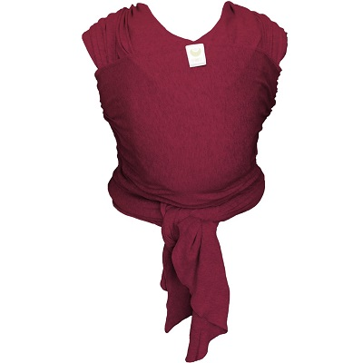 ByKay Stretchy Wrap Classic Draagdoek - Berry Red
