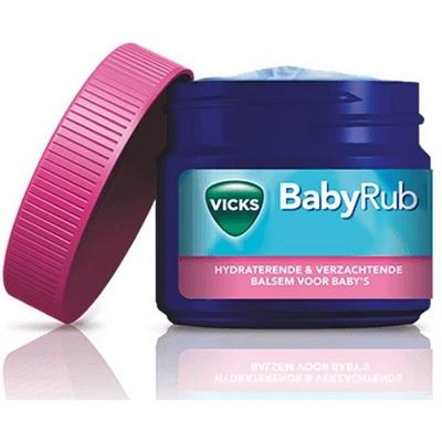 Vicks BabyRub verkoudheidsbalsem