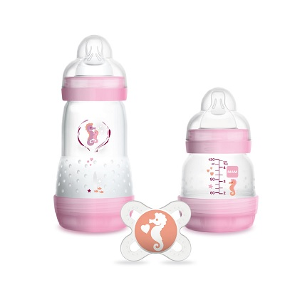 MAM Easy Start Anti-Colic set Small - girl